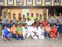 CENTRE FOR MARTIAL ARTS -Best out going students
